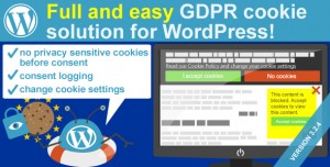 WeePie Cookie Allow v3.2.11 - Easy & Complete Cookie Consent