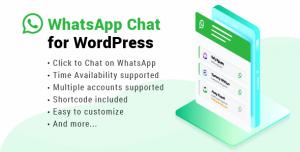 WhatsApp Chat for WordPress v2.3
