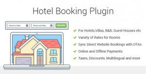 Hotel Booking v3.7.4 - Property Rental WordPress Plugin