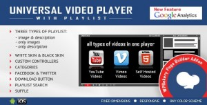 Universal Video Player for WPBakery Page Builder v1.8.5