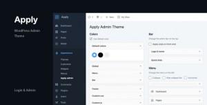 Apply v1.0.0 - WordPress Admin Theme