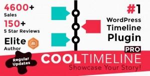 Cool Timeline Pro v3.3.4 - WordPress Timeline Plugin