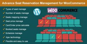 Advance Seat Reservation Management for WooCommerce v2.8