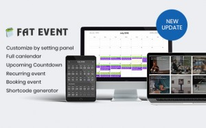 FAT Event v3.6 - WordPress Event and Calendar Booking