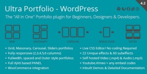 Ultra Portfolio v5.1 - WordPress