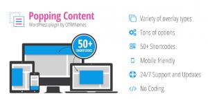 Popping Content for WordPress v1.15