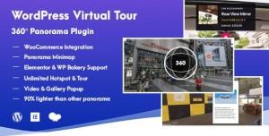 WordPress Virtual Tour 360 Panorama Plugin v1.0.1