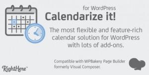 Calendarize it! for WordPress v4.9.3