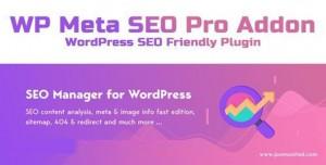 WP Meta SEO Pro Addon v1.4.1 - WordPress SEO Friendly Plugin