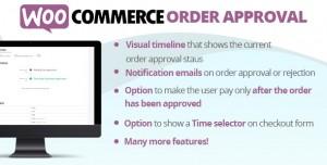 WooCommerce Order Approval v1.1.8