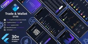 Crypto Trade & wallet Flutter UI kit