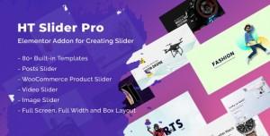 HT Slider Pro For Elementor v1.0