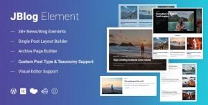 JBlog Elements v1.1.0 - Magazine & Blog Add Ons for Elementor & WPBakery Page Builder