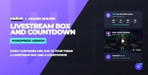 Twitch LiveStream Box and Countdown v1.0.0 - WordPress Plugin