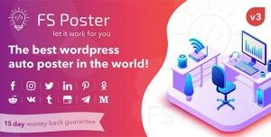 FS Poster v3.3.6 - WordPress auto poster & scheduler