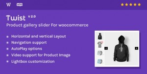 Twist v2.1 - Product Gallery Slider for Woocommerce