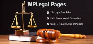 WP Legal Pages Pro v7.6 - WordPress Plugin