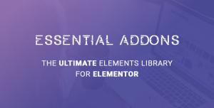 Essential Addons for Elementor v4.1.3