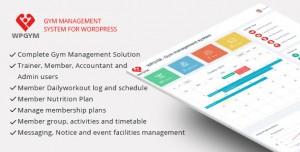 WPGYM v3.5.0 - Wordpress Gym Management System