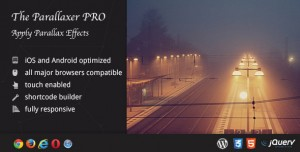 The Parallaxer WP v3.20 - Parallax Effects on Content