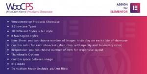 WooCommerce Products Showcase for Elementor v1.0 - WordPress Plugin