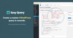 Easy Query Pro v2.2.2 - Visual Query Builder Plugin For WordPress