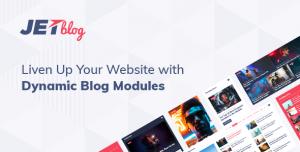 JetBlog v2.2.0 - Blogging Package for Elementor Page Builder