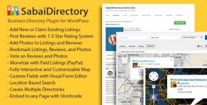 Sabai Directory for WordPress v1.4.8