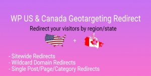 WP US&Canada State Geotargeting Redirect v1.0