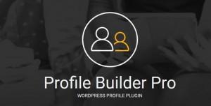 Profile Builder Pro v3.0.6 - WordPress Profile Plugin