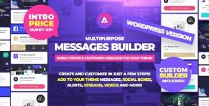 Asgard v1.1.0 - Multipurpose Messages and Social Builder Plugin