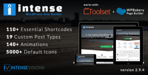 Intense v2.9.6 - Shortcodes and Site Builder for WordPress