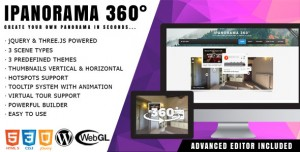iPanorama 360° v1.5.8 - Virtual Tour Builder for WordPress