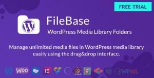 FileBase v1.2.2 - Ultimate Media Library Folders for WordPress