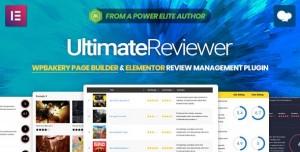 Ultimate Reviewer v2.0.1 - Elementor & WPBakery Page Builder Addon