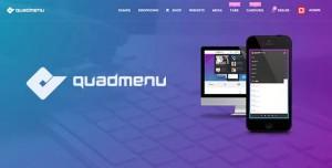QuadMenu v1.8.1 - Themes Developer Mega Menu