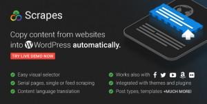 Scrapes v2.1.0 - Web scraper plugin for WordPress