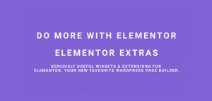 Elementor Extras v2.2.9 - Do more with Elementor