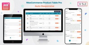 Woo Product Table Pro v5.5 - WooCommerce Product Table view solution