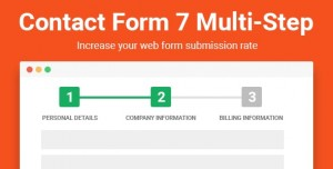 Contact Form Seven CF7 Multi-Step Pro v2.3