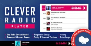 CLEVER v1.0 - Shoutcast and Icecast Radio Player for WPBakery Page Builder