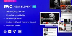 Epic News Elements v2.2.4