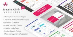 Material v7.1 - White Label WordPress Admin Theme
