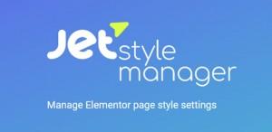 JetStyleManager v1.0.0-beta - Manage Elementor Page Style Settings