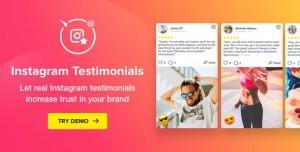 Instagram Testimonials Plugin for WordPress v1.3.1