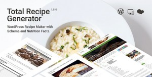 Total Recipe Generator v1.8.0 - WordPress Recipe Maker with Schema and Nutrition Facts