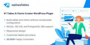 wpDataTables v2.7.0 - Tables and Charts Manager for WordPress