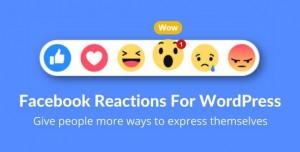 Facebook Reactions For WordPress v2.1