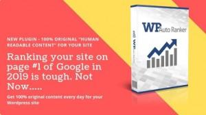 WP Auto Ranker Pro v0.8.5 - Plugin For WordPress