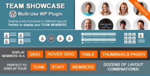 Team Showcase v2.1.8 - Codecanyon Wordpress Plugin